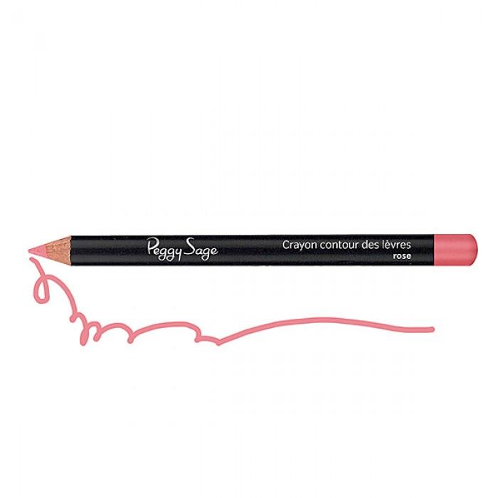 Lip liner pencil rose