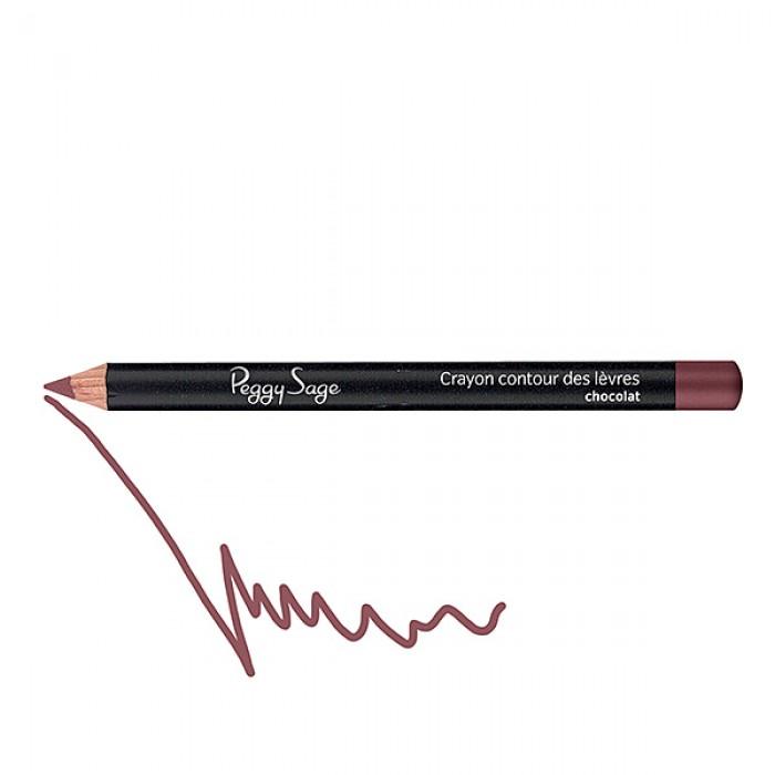 Lip liner pencil chocolat
