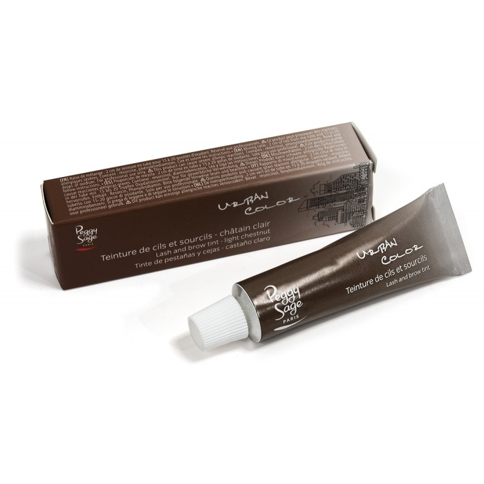 Peggy Sage Eyelash & brow tint - light brown 15ml