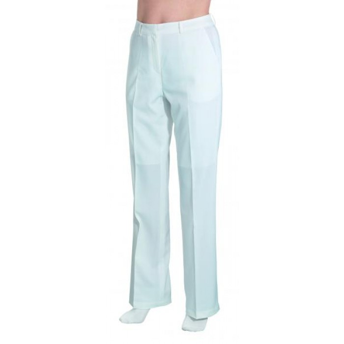 White beautician's trousers L