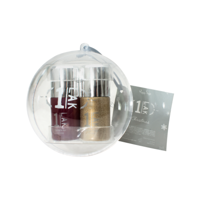 Peggy Sage 1Lak  10ML + 10ML Santa´s list & Feel the magic 10ML + 10ML