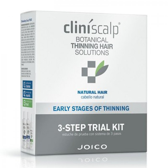JOICO CLINISCALP 3 STEP KIT FOR NATURAL HAIR EARLY STAGE
