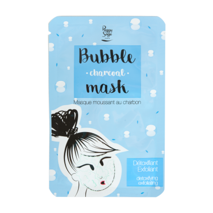 PEGGY SAGE FOAMING CHARCOAL FABRIC MASK 20ML