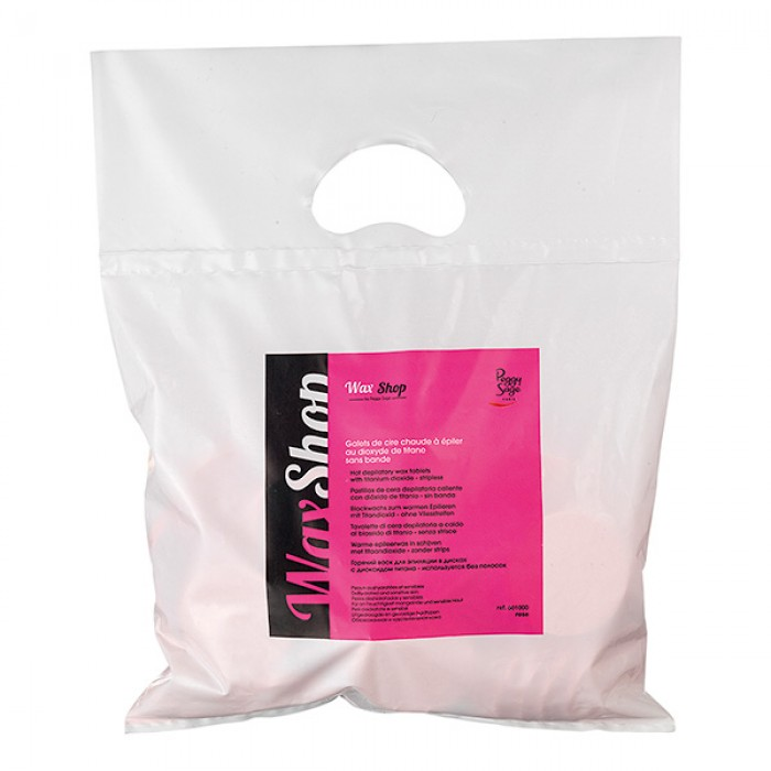 Hot depilatory wax tablets 1kg rose