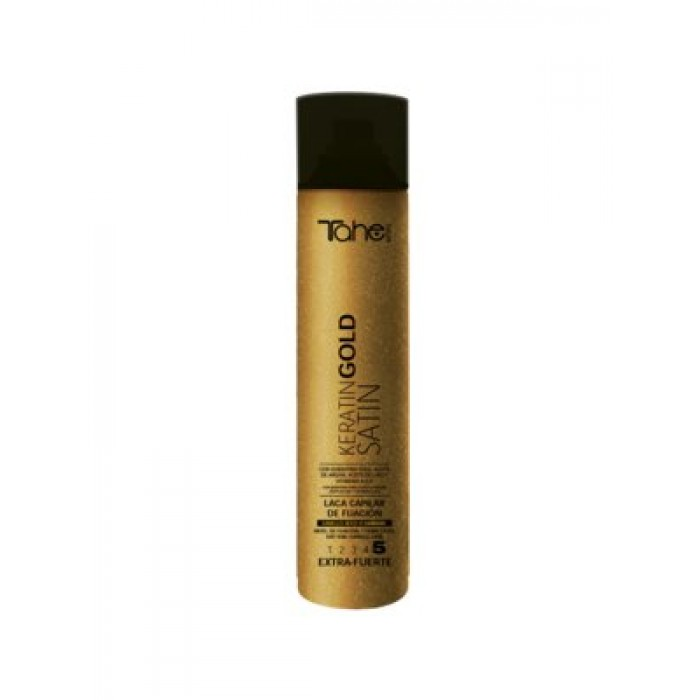 TAHE Keratin Gold juukselakk 5, 400ml