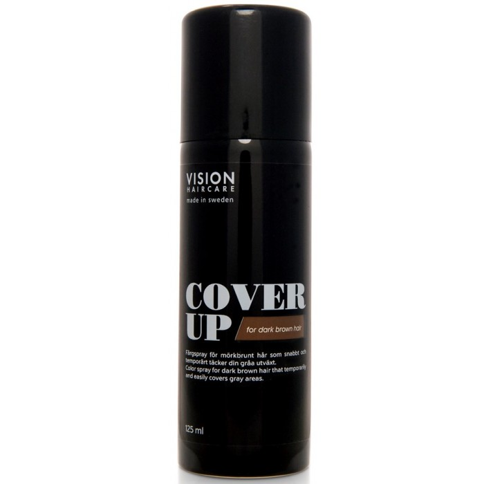 Vision Haircare Cover Up Medium Brown 125ml
