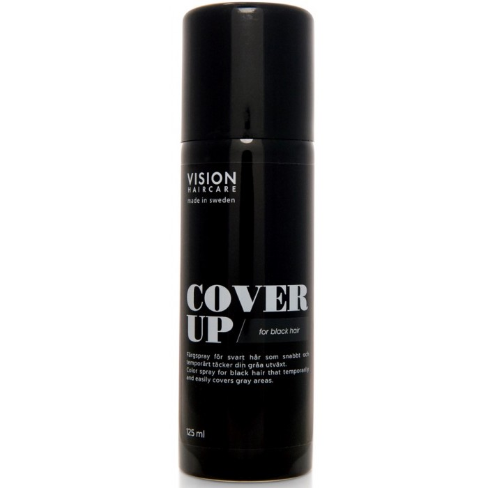 Vision Haircare Cover Up Black 125ml