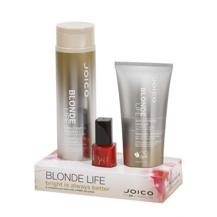 Joico Blonde Life Duo + Nail Polish