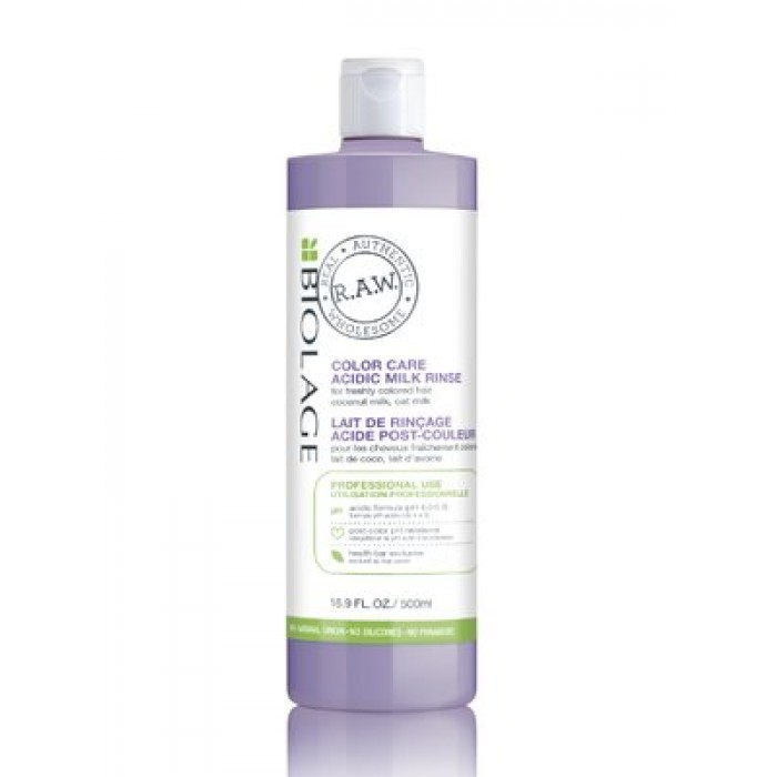 Biolage Raw Color Care Acidic Milk Rinse 500ml
