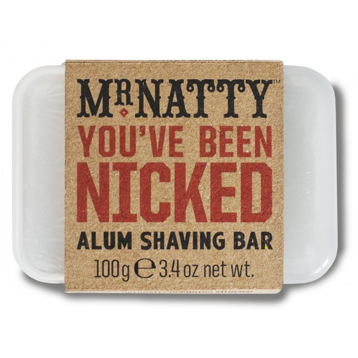 Mr.Natty Alum Shaving Bar - maarjajää 100g