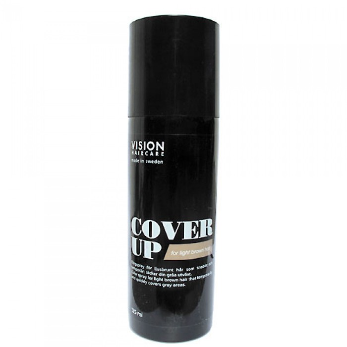Vision Haircare Cover Up Light Brown 125ml