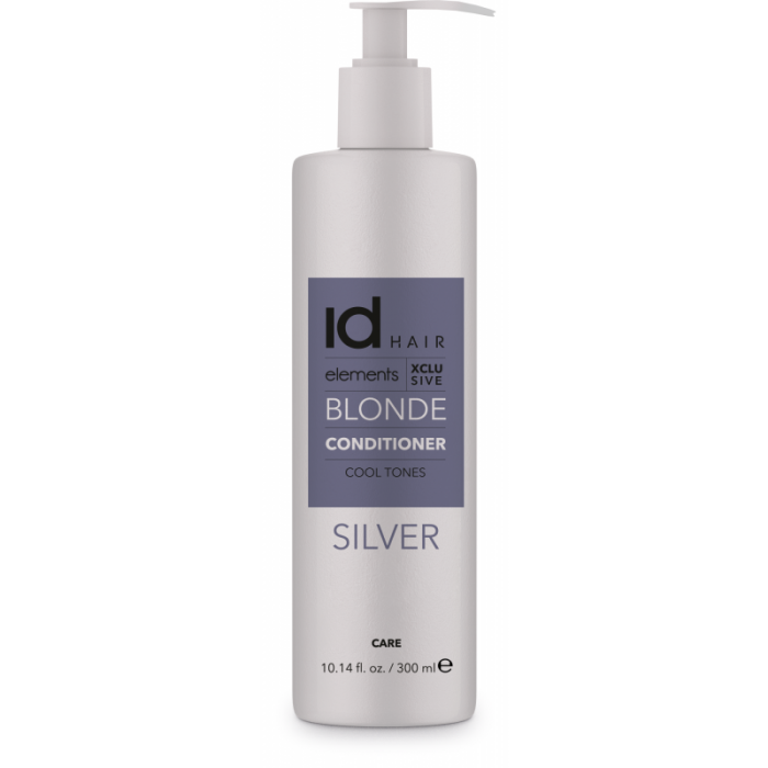 IdHair Elements Xclusive Blonde Conditioner Silver 300ml