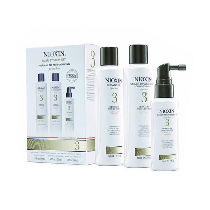Nioxin SYS3 TrialKit 150+150+50