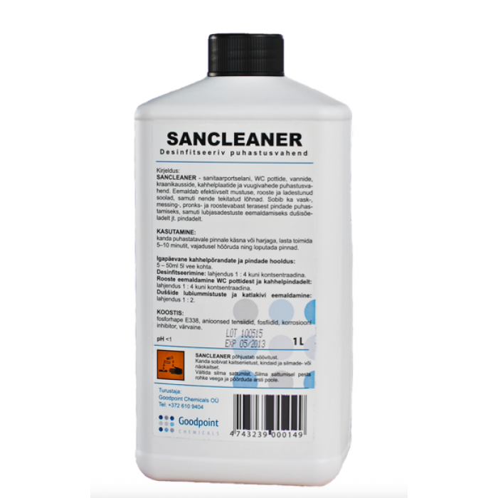 Sancleaner des. puh.vahend 1 L