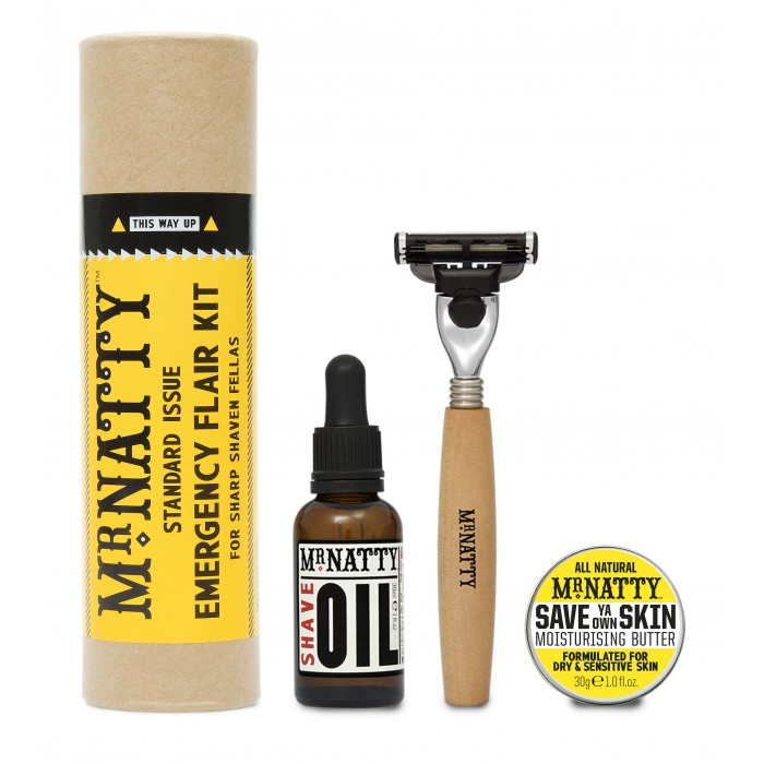 Mr.Natty Shaven Flair Kit - komplekt 3 toodet