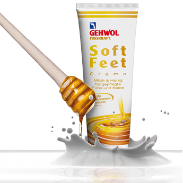 Gehwol Fusskraft Soft Feet cream 125 ml