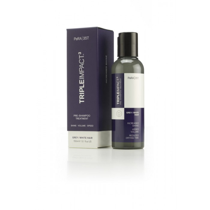 PeRa Triple Impact Pre-Shampoo Grey/white Hair 150ml