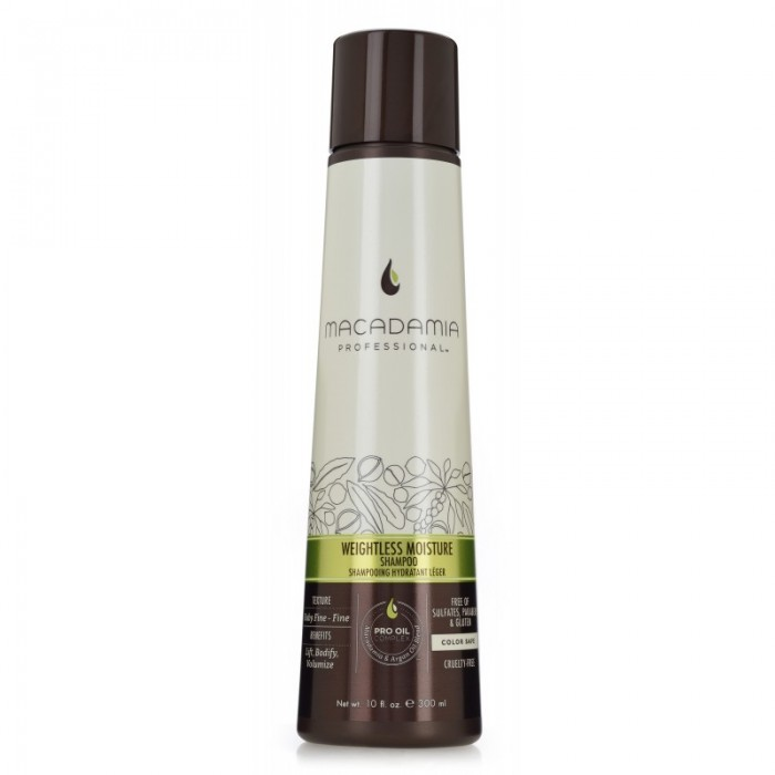 MACADAMIA Weightless Moisture shampoon 300ml