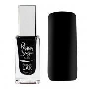 Nail lacquer Forever LAK black velours 8026
