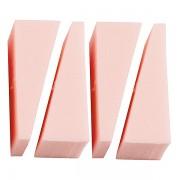 Latex make-up sponge x 4tk (roosa)