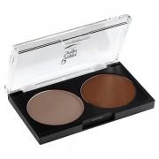 Eyebrow palette brun