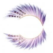 False eyelashes - purple diva