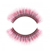 False eyelashes - pink fairy