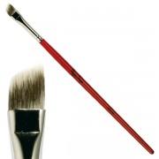 Tapered eye shadow brush