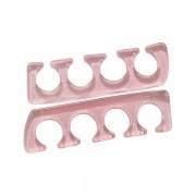 Pair of silicone toe separators