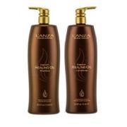 LANZA Keratin Healing Oil Shampoo 1L