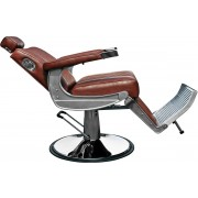 Barber Chair David, brown