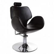 Klienditool Tulip 2 (kallutav seljatugi, peatugi, must)