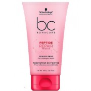 SCHWARZKOPF BC PEPTIDE REPAIR RESCUE SEALED ENDS 75ml