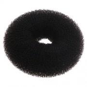 Soengutäide Sibel nylon rõngas, must