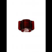 Juukseklamber merevaik läikiv MIDI