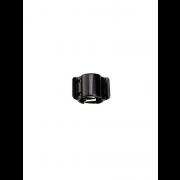 Juukseklamber must läikiv MIDI
