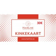 HairLine kinkekaart 30€