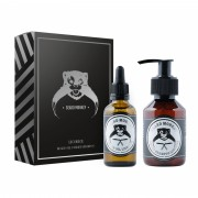 Beard Monkey Licourice Gift Set Beard Shampoo 100ml + Oil 50ml