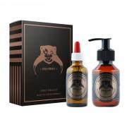 Beard Monkey Sweet Tobacco Gift Set Beard Shampoo 100ml + Oil 50ml