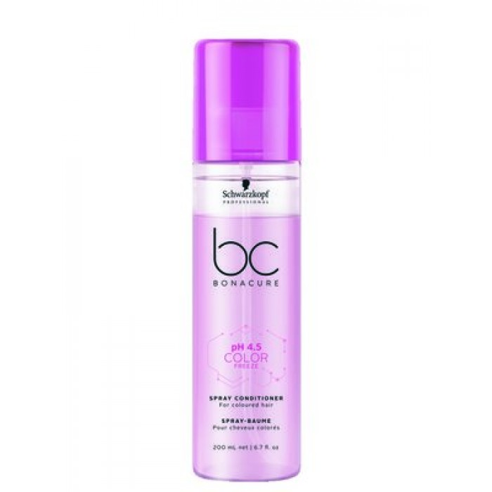Schwarzkopf BC Color Freeze Spray Conditioner 200ml