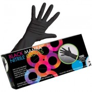 Framar Black Mamba Nitrile Gloves M 100pcs