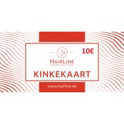 HairLine kinkekaart 10€