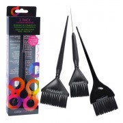 Framar Variety Coloring Brush 3Pack Set
