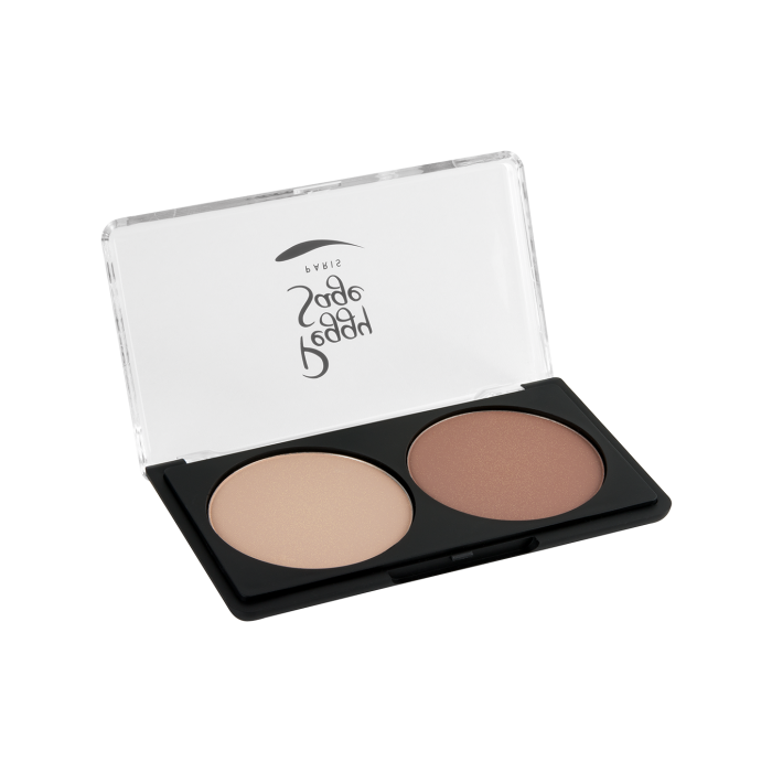 Face-shaping cosmetics palette