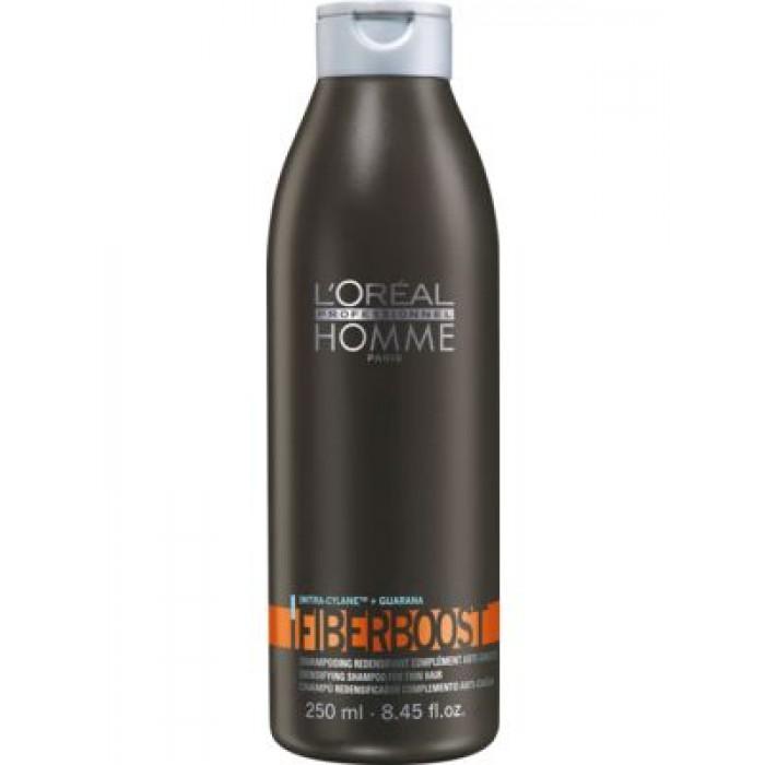LOREAL LP Homme Fiberboost shamp. 250ml