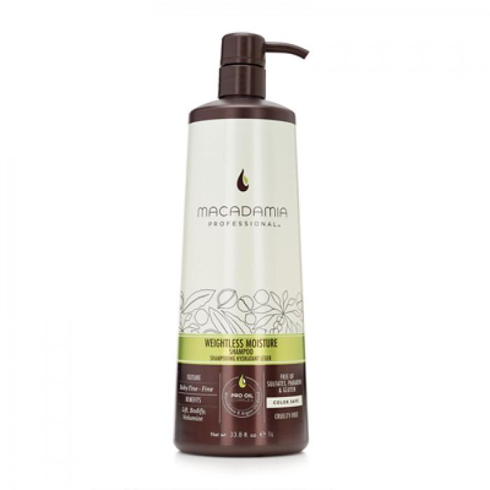 Macadamia Weightless Moisture Shampoo 1000мл