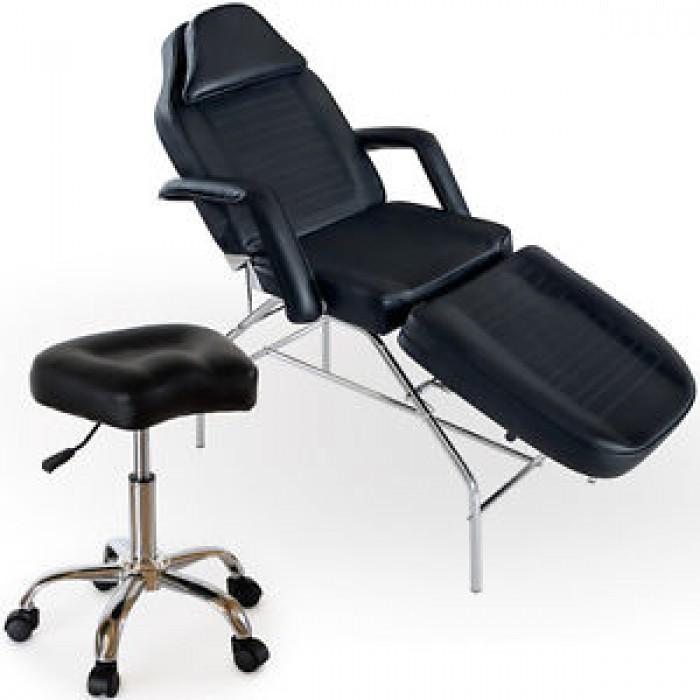Косметологическое кресло  BM58011, черное