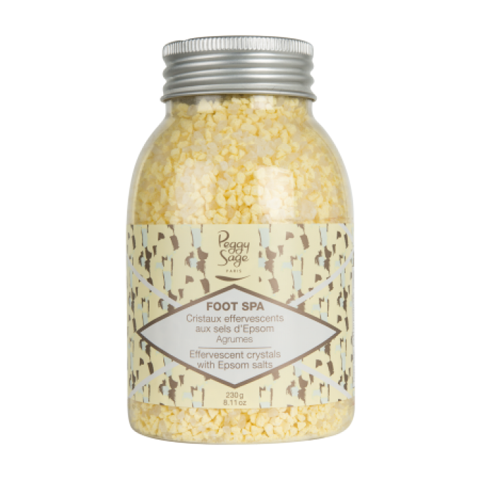 Peggy Sage Foot Spa Effervescent crystals with Espom salts 230g