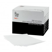 200 brush-cleaning cloths 12x10cm