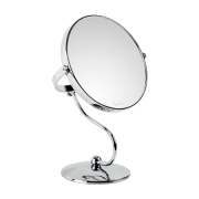 Peggy Sage Double-sided 5x magnifying mirror with stand